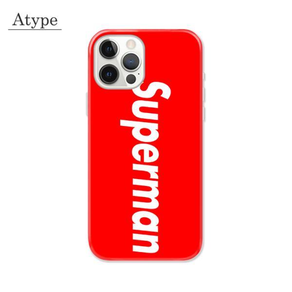 全機種対応 スマホ ケース iPhone11 11pro Galaxy Xperia AQUOSPHONE ボックスロゴ Superman デザイン パロディ|numbers|02