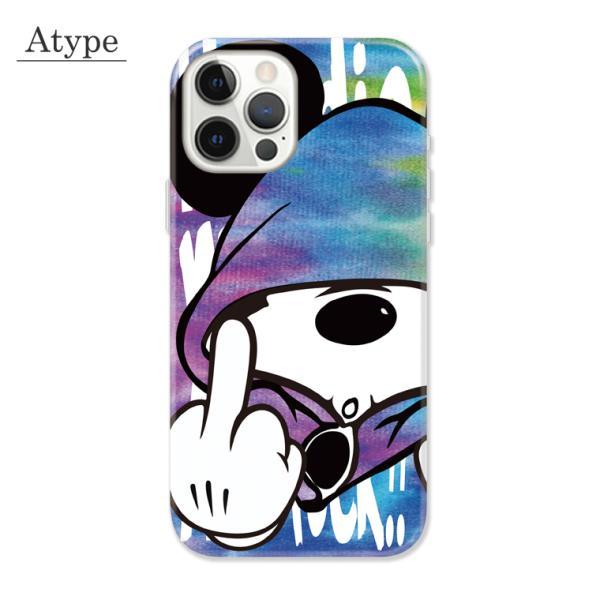 全機種対応 スマホ ケース iPhone11 11pro Galaxy Xperia AQUOSPHONE ass Mouse FUCK ファック ネズミッキー パロディ おもしろ デザイン 可愛い|numbers|03