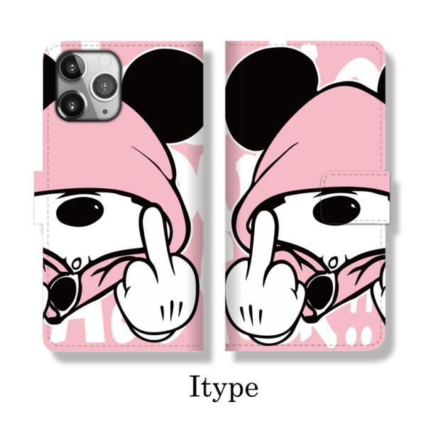 全機種対応 手帳型 iPhoneSE ケース iPhone Galaxy Xperia AQUOSPHONE ass Mouse FUCK ファック ネズミッキー パロディ おもしろ デザイン 可愛い|numbers|11
