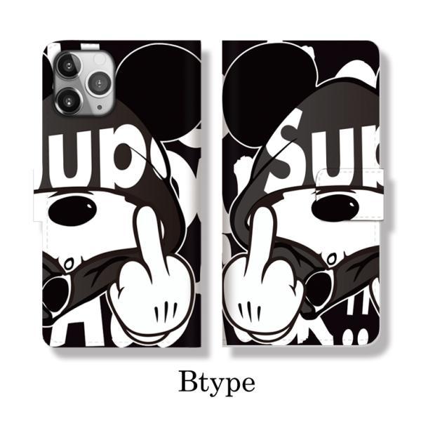 全機種対応 手帳型 iPhoneSE ケース iPhone Galaxy Xperia AQUOSPHONE ass Mouse FUCK ファック ネズミッキー パロディ おもしろ デザイン 可愛い|numbers|04