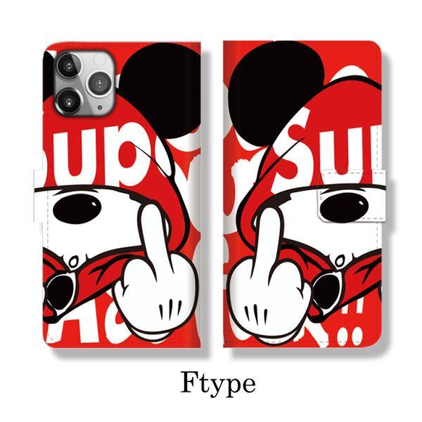 全機種対応 手帳型 iPhoneSE ケース iPhone Galaxy Xperia AQUOSPHONE ass Mouse FUCK ファック ネズミッキー パロディ おもしろ デザイン 可愛い|numbers|08