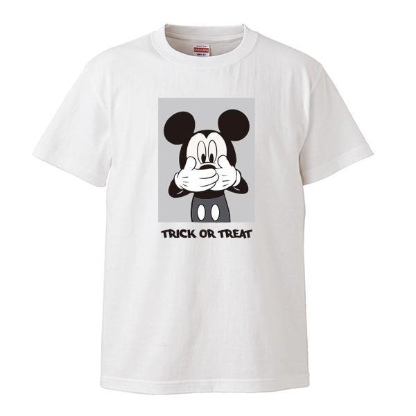 ストリート大人気ブランドTシャツ FUCK Not say TRICK OR TREAT トリックオアトリート パロディ 大人気 オシャレ トレンド マウス|numbers|02