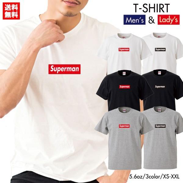 ストリート大人気ブランドTシャツ Superman 大人気 ボックスロゴ BOXロゴ オシャレ トレンド モード|numbers