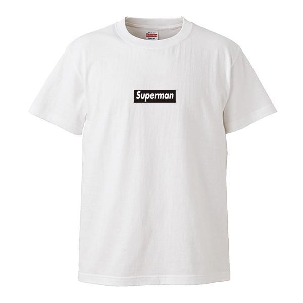 ストリート大人気ブランドTシャツ Superman 大人気 ボックスロゴ BOXロゴ オシャレ トレンド モード|numbers|05