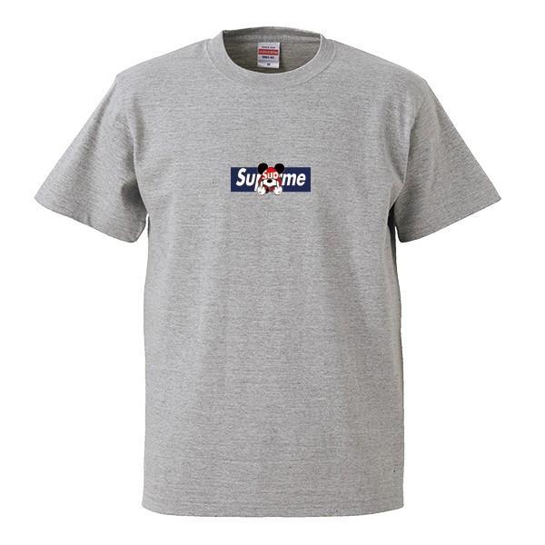 ストリート大人気ブランドTシャツ 大人気 ボックスロゴ ねずみっきー FUCK BOXロゴ オシャレ トレンド モード numbers 10