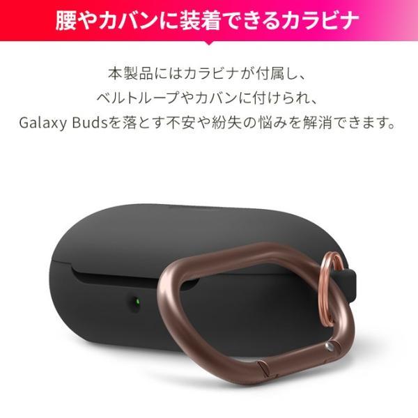 Galaxy Buds Galaxy Buds+ ケース カラビナ リング 付 elago SILICONE HANG CASE お取り寄せ|nuna-ys|03
