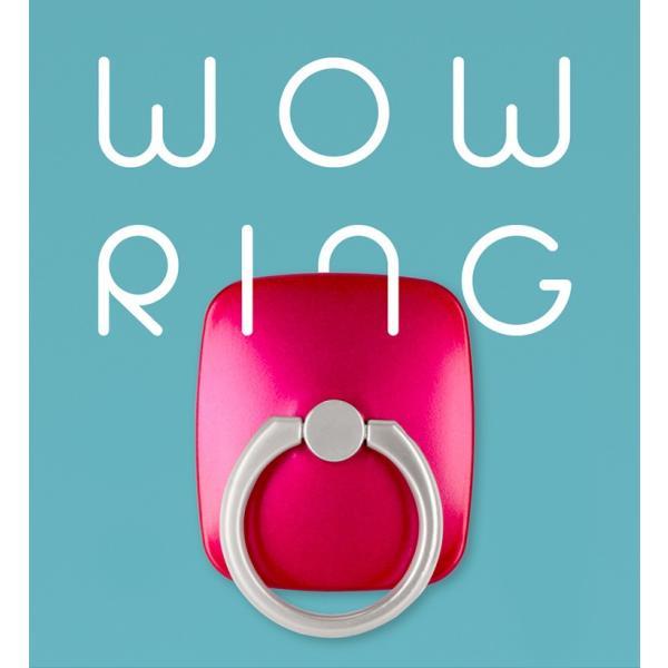スマホリング iPhone Galaxy Xperia 全機種対応 Mercury Wow Ring スタンド 落下防止 メタル おしゃれ 指輪型|nuna-ys|02
