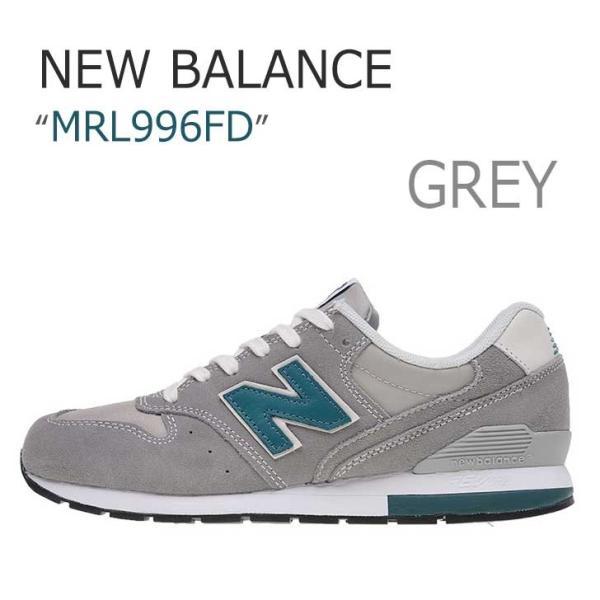New Balance 996 Steel Grey Light Blue ニューバランス MRL996FD シューズ スニーカー シューズ|nuna-ys