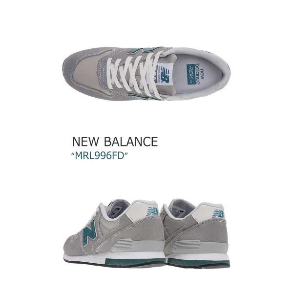 New Balance 996 Steel Grey Light Blue ニューバランス MRL996FD シューズ スニーカー シューズ|nuna-ys|02