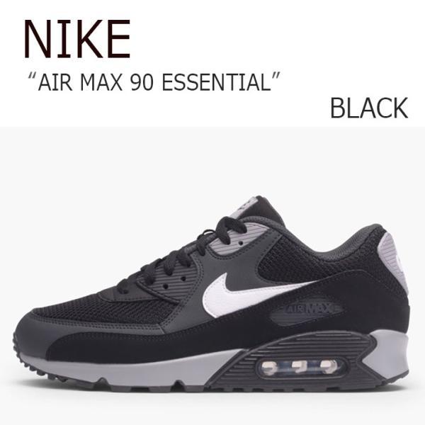 NIKE AIR MAX 90 ESSENTIAL BLACK ナイキ エアマックス 537384-063 シューズ スニーカー シューズ|nuna-ys