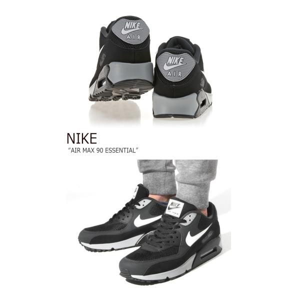 NIKE AIR MAX 90 ESSENTIAL BLACK ナイキ エアマックス 537384-063 シューズ スニーカー シューズ|nuna-ys|03
