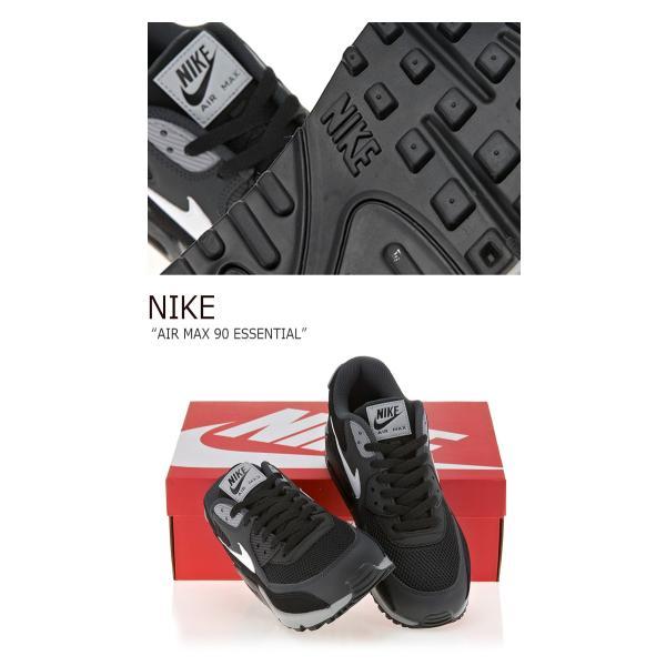 NIKE AIR MAX 90 ESSENTIAL BLACK ナイキ エアマックス 537384-063 シューズ スニーカー シューズ|nuna-ys|04