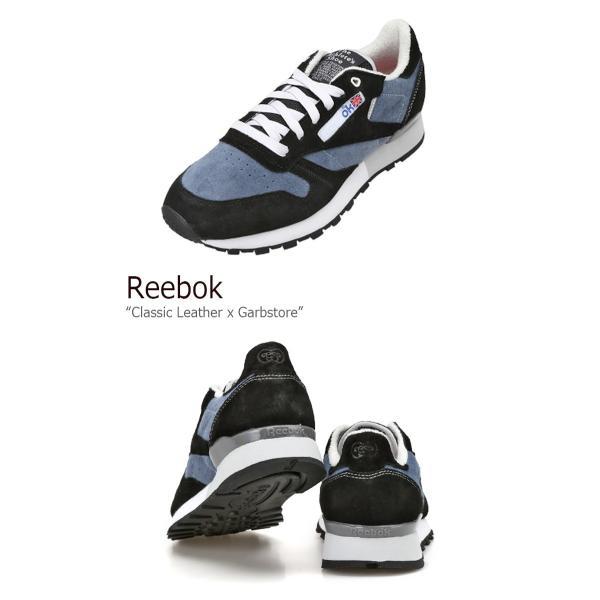 Reebok Classic Leather x Garbstore Midnight Blue Black White リーボック クラシック レザー x ガーブストア AR2617 シューズ スニーカー シューズ|nuna-ys|03