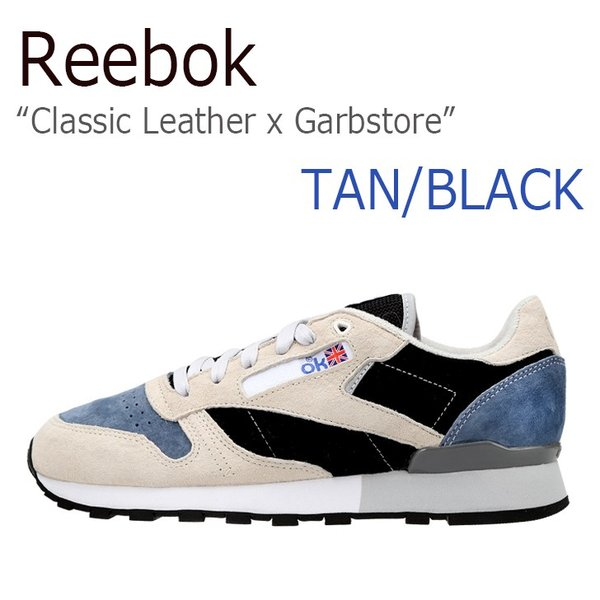 Reebok Classic Leather x Garbstore Tan Dust Black リーボック クラシック レザー x ガーブストア AR2632 シューズ'スニーカー スニーカー シューズ|nuna-ys
