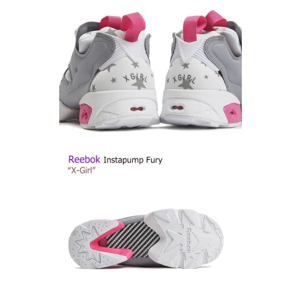 Reebok INSTAPUMP FURY X-Girl Exclusive White Pink リーボック ポンプフューリー 限定商品 星柄 AR3800 シューズ スニーカー シューズ|nuna-ys|02