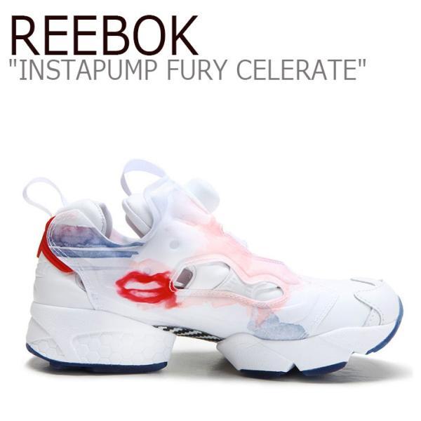 Reebok INSTAPUMP FURY CELERATE T RED BLUE PNK SLVR リーボック インスタ ポンプフューリー V69142 シューズ スニーカー シューズ