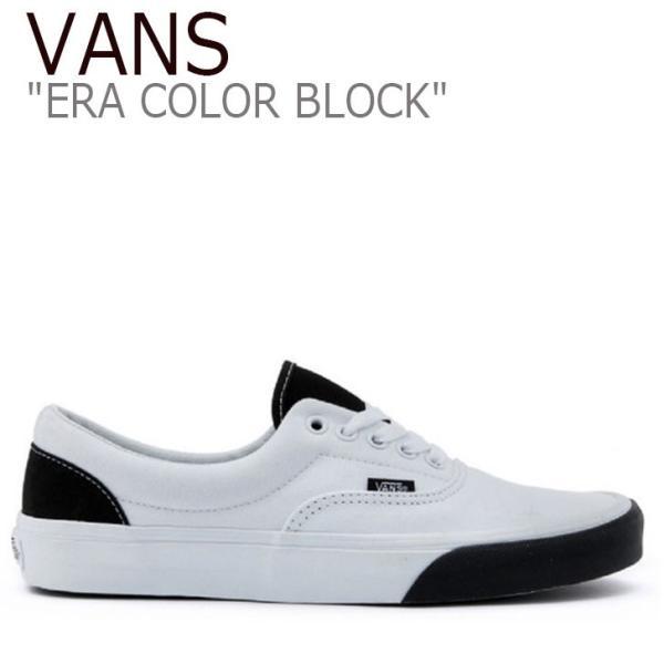 バンズ エラ スニーカー VANS メンズ レディース ERA COLOR BLOCK エラ カラーブロック WHITE ホワイト VN0A38FRVOY シューズ nuna-ys