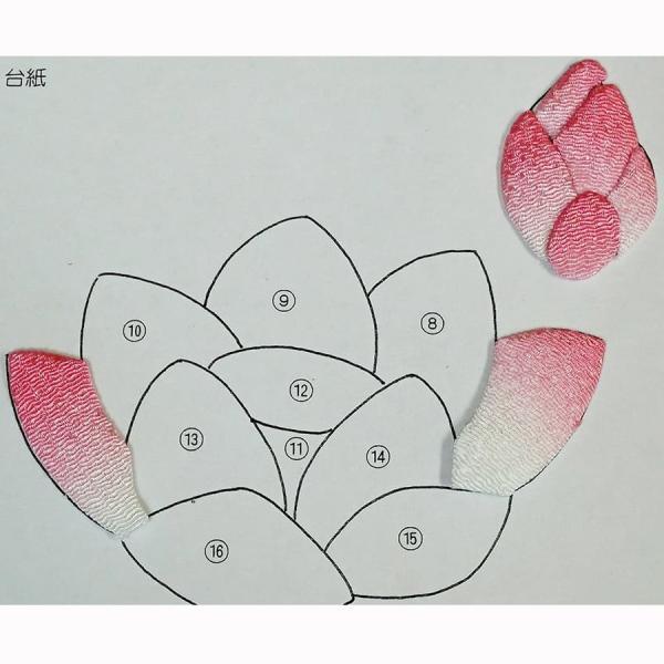 ちりめん手芸キット・花の丸窓12ヶ月/限定販売|nunogatari|17