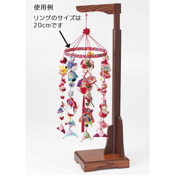 つるしびな用ちりめんリング・25cm|nunogatari|03