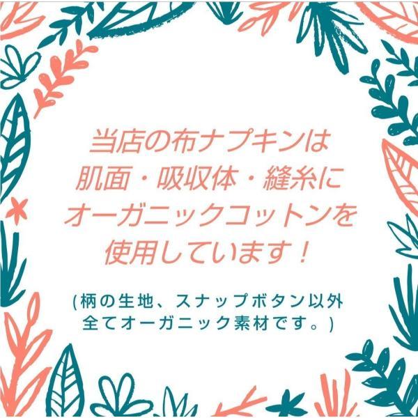 布ナプキン セット アウトレット セール オーガニック 生理用ナプキン 柄や形はおまかせ まとめ買い お得 格安 激安 福袋 ASS20-1|nunonapu-soala|05