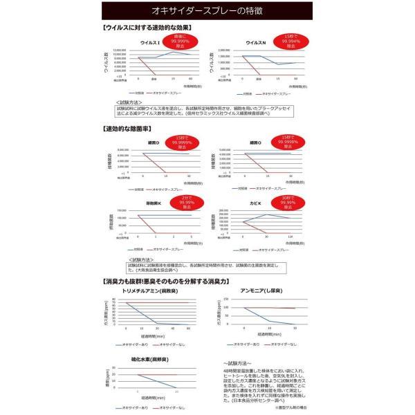 オキサイダー スプレー 日本製 300ml 防菌 殺菌 除菌 対策 インフルエンザ 予防 空間 高性能 ウィルス nuovo-vemto 03