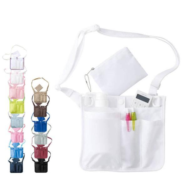 ナース ペンケース バッグ 看護 医療 介護 収納 ウエストオーガナイザー3|nursery-y