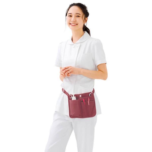 ナース ペンケース バッグ 看護 医療 介護 収納 ウエストオーガナイザー3|nursery-y|02