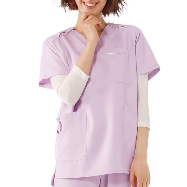 医療 ナース 看護 白衣 男女兼用 吸汗速乾 スムーススクラブインナー nursery-y 02