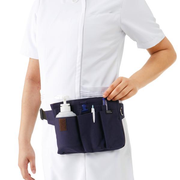 ナース ペンケース バッグ 看護 医療 介護 エプロンバッグ nursery-y 02