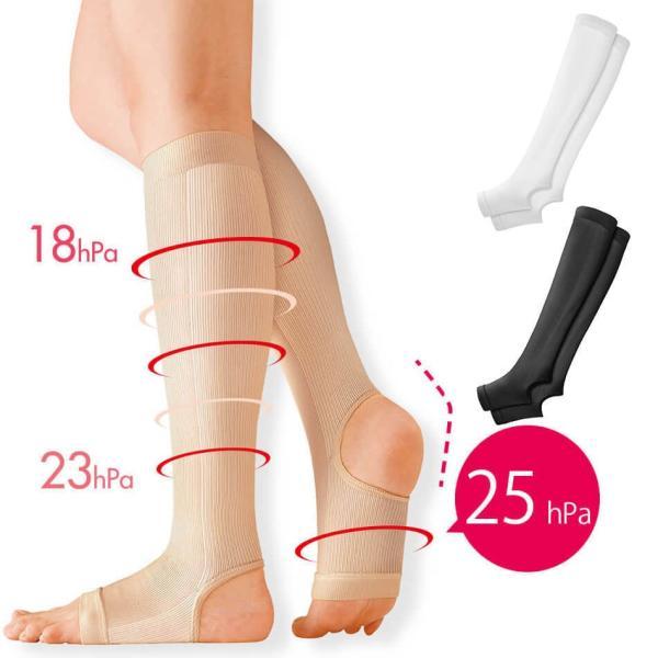 医療用 白  ソックス 看護 介護 病院 靴下 ナース 女性キュット一般医療用サポーター|nursery-y