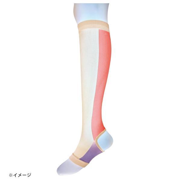 医療用 白  ソックス 看護 介護 病院 靴下 ナース 女性キュット一般医療用サポーター|nursery-y|03