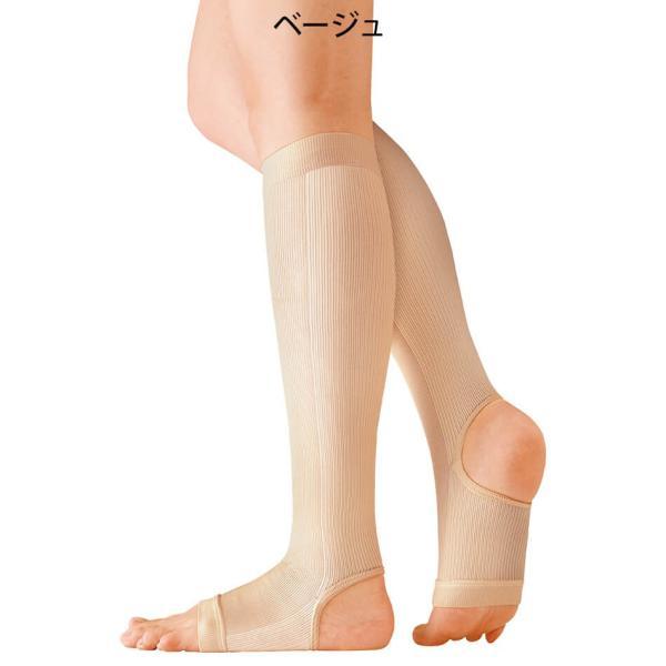 医療用 白  ソックス 看護 介護 病院 靴下 ナース 女性キュット一般医療用サポーター|nursery-y|05