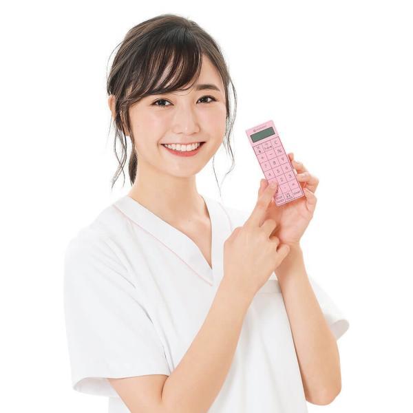 ナース 小物 グッズ 看護 医療 介護 計測 音が消せる電卓付長時間タイマー|nursery-y|05