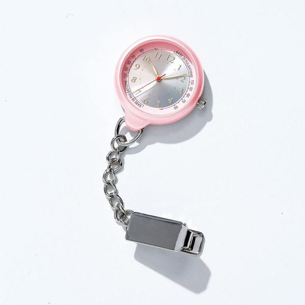 ナース 小物 グッズ 看護 医療 ウォッチ 時計 グラデーション蓄光ナースウォッチ|nursery-y|02