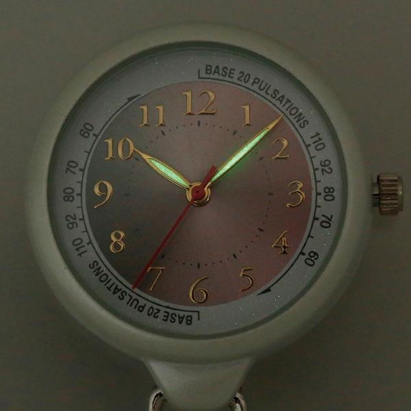 ナース 小物 グッズ 看護 医療 ウォッチ 時計 グラデーション蓄光ナースウォッチ|nursery-y|03