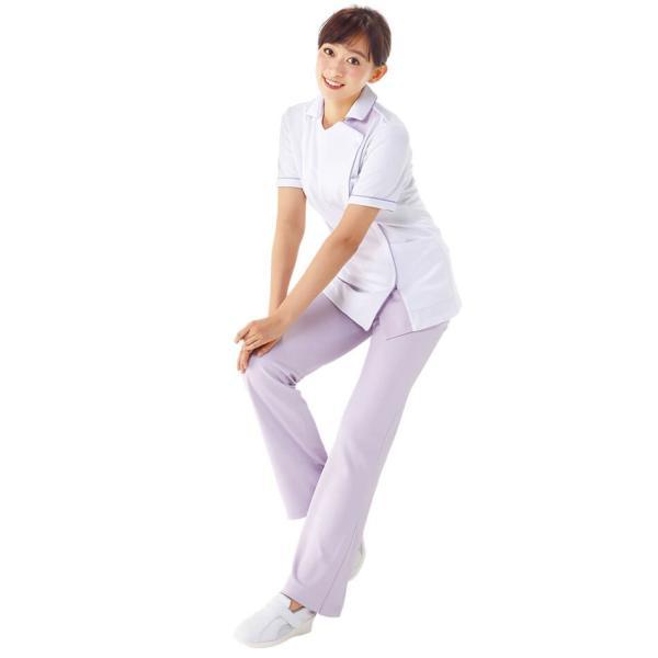 白衣 女性 医療用 ナースウェア 医師 看護師 イージーパンツ(SS/S/M/L/LL/3L/4L/5L)|nursery-y|04