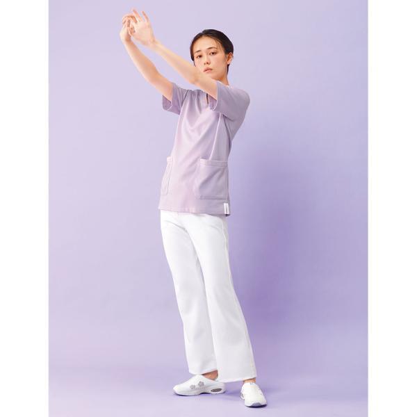 白衣 女性 医療用 ナースウェア 医師 看護師 イージーパンツ(SS/S/M/L/LL/3L/4L/5L)|nursery-y|07
