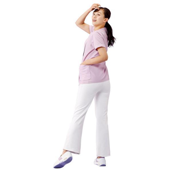 白衣 女性 医療用 ナースウェア 医師 看護師 イージーパンツ(SS/S/M/L/LL/3L/4L/5L)|nursery-y|09