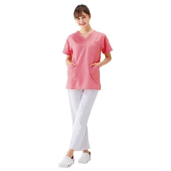 白衣 男性 女性 男女兼用 病院 クリニック 看護師 ナースリースクラブ(さらりタッチ)|nursery-y|02