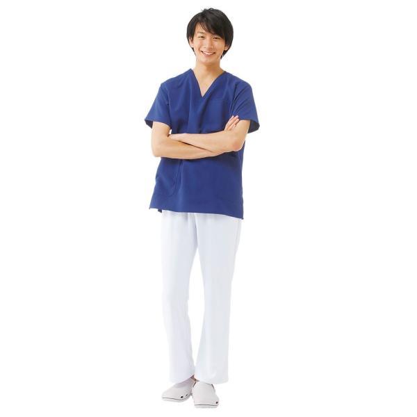 白衣 男性 女性 男女兼用 病院 クリニック 看護師 ナースリースクラブ(さらりタッチ)|nursery-y|03