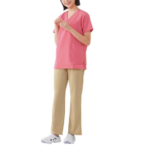 白衣 男性 女性 男女兼用 病院 クリニック 看護師 ナースリースクラブ(さらりタッチ)|nursery-y|05