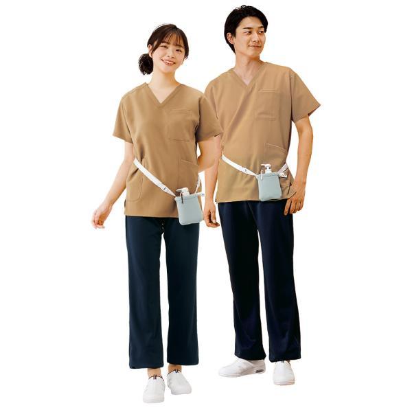 白衣 男性 女性 男女兼用 病院 クリニック 看護師 ナースリースクラブ(さらりタッチ)|nursery-y|09