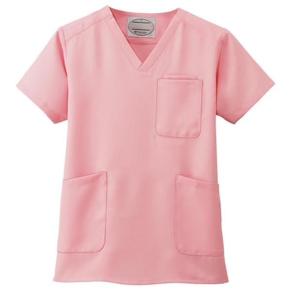 白衣 男性 女性 男女兼用 病院 クリニック 看護師 ナースリースクラブ(さらりタッチ)|nursery-y|10