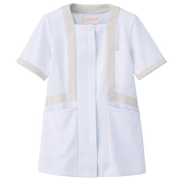 アクティブストレッチ・ネオ トリミングジャケット 医療 ナース 看護 白衣 女性|nursery-y|02