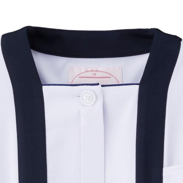 アクティブストレッチ・ネオ トリミングジャケット 医療 ナース 看護 白衣 女性|nursery-y|03