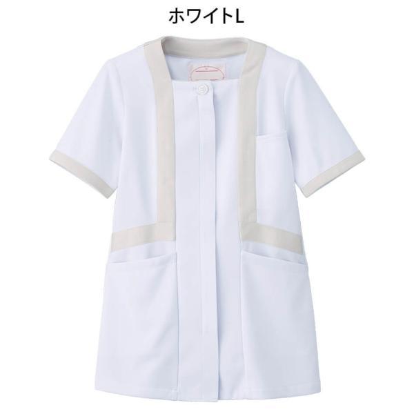 アクティブストレッチ・ネオ トリミングジャケット 医療 ナース 看護 白衣 女性|nursery-y|04