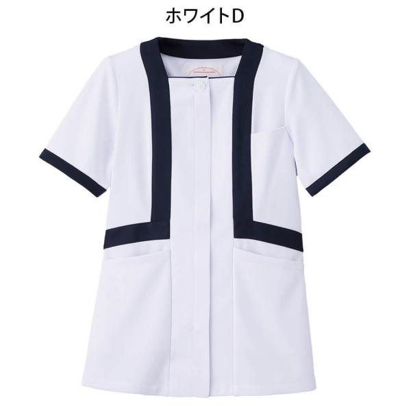 アクティブストレッチ・ネオ トリミングジャケット 医療 ナース 看護 白衣 女性|nursery-y|05