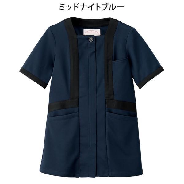 アクティブストレッチ・ネオ トリミングジャケット 医療 ナース 看護 白衣 女性|nursery-y|06