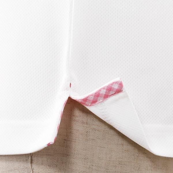 介護士 女性 レディースデザインポロシャツ 病院 クリニック ヘルパー ケアウェア|nursery-y|05