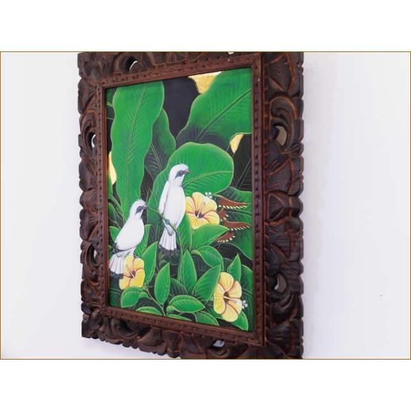 バリ絵画 アジアン/バリ絵画 花鳥風月 プンゴセカンMP-003 nusa 05